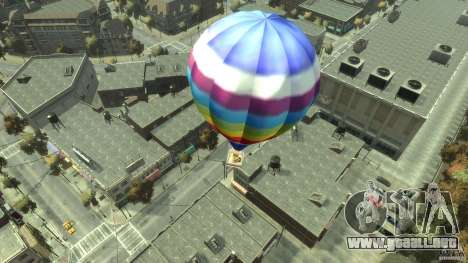 Balloon Tours option 7 para GTA 4 Vista posterior izquierda