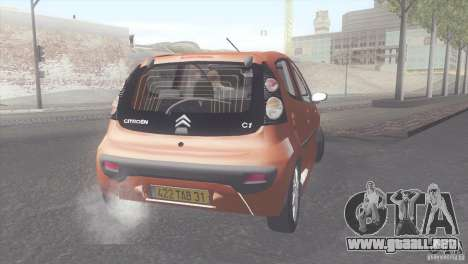 Citroen C1 2005 para GTA San Andreas left