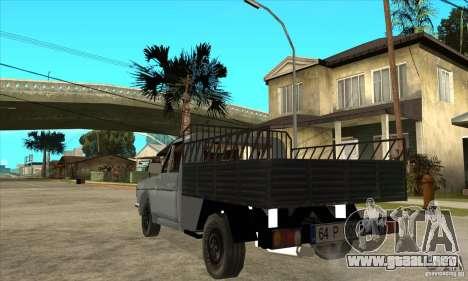 Anadol Pick-Up para GTA San Andreas vista posterior izquierda