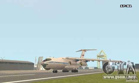 Ilyushin Il-76 MD para GTA San Andreas