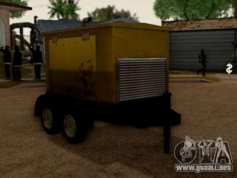 Trailer Generator para la visión correcta GTA San Andreas