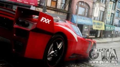 Ferrari FXX Evoluzione para GTA 4 visión correcta