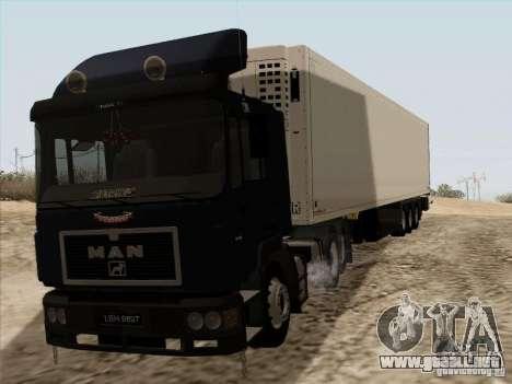 MAN F2000 6x4 para GTA San Andreas