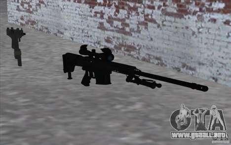 M98B para GTA San Andreas tercera pantalla