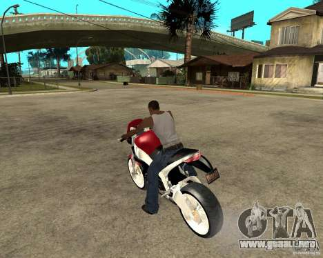 Buell LighTuning 1200 para GTA San Andreas left