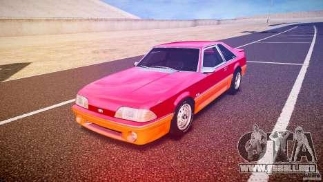 Ford Mustang GT 1993 Rims 2 para GTA 4