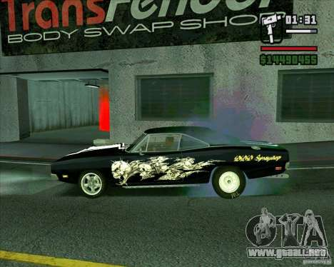 Dodge Charger R/T 69 para GTA San Andreas left