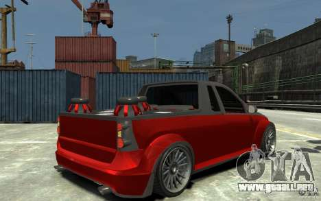 Dacia Pick-up Tuning para GTA 4 visión correcta