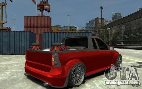 Dacia Pick-up Tuning para GTA 4 visión correcta