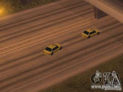 Aceleración para GTA San Andreas tercera pantalla