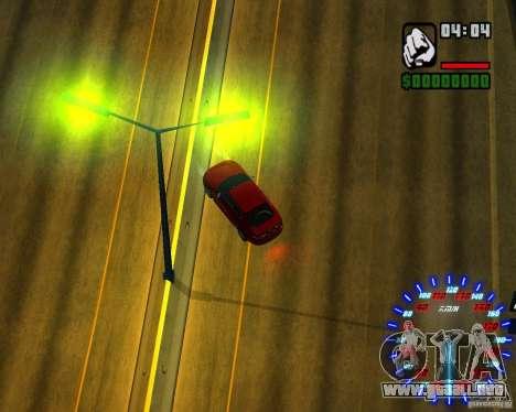 Nuevos efectos para GTA San Andreas octavo de pantalla