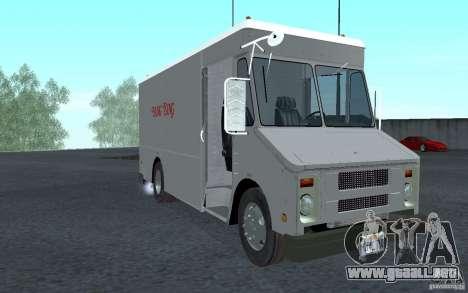Chevrolet Step Van 30 (1988) para GTA San Andreas