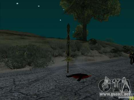 Garra Beliara para GTA San Andreas tercera pantalla