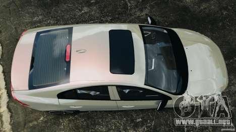 Volvo S60 R Design para GTA 4 visión correcta