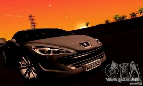 Peugeot Rcz 2011 para el motor de GTA San Andreas