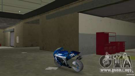 Yamaha Sportbike beta 1.0 para GTA Vice City vista lateral izquierdo