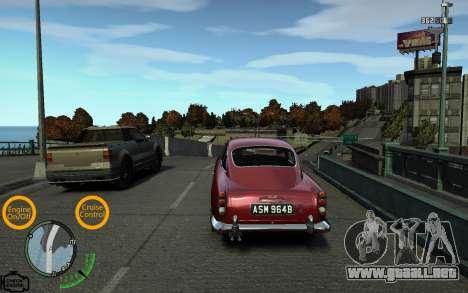 Luces de coche para GTA 4 tercera pantalla