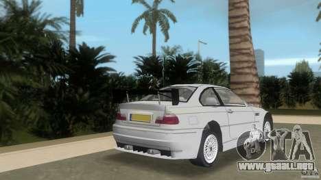 BMW M3 para GTA Vice City vista lateral izquierdo