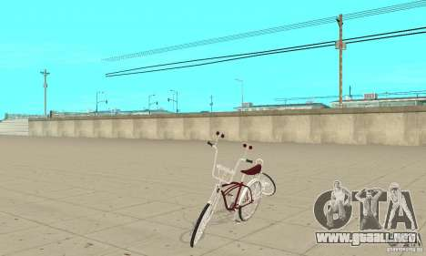 Low Rider Bike para GTA San Andreas