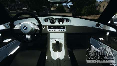 BMW Z8 2000 para GTA 4 vista hacia atrás
