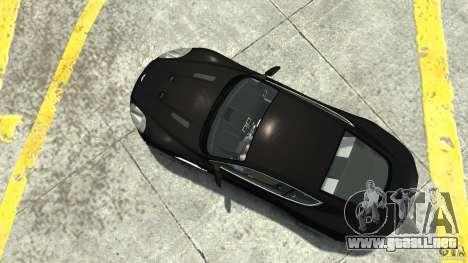 Aston Martin DBS v1.1 sin tonificante para GTA 4 visión correcta
