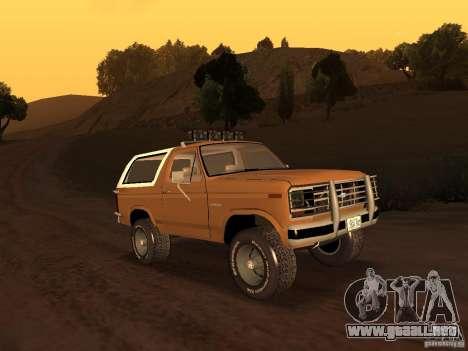 Ford Bronco 1985 para GTA San Andreas