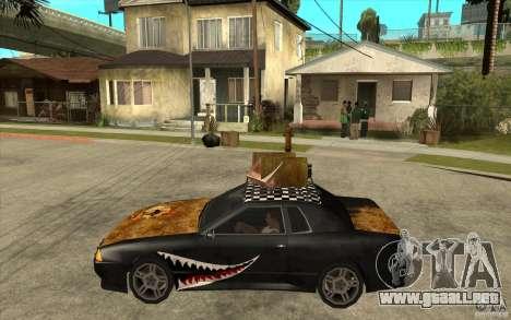 Elegy Rost Style para GTA San Andreas left