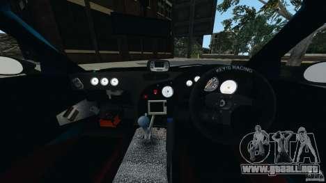 Mazda RX-7 RE-Amemiya para GTA 4 vista hacia atrás