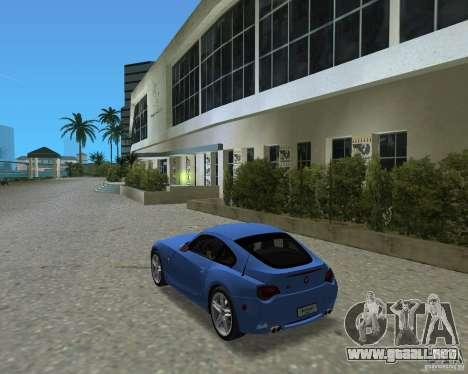 BMW Z4 para GTA Vice City visión correcta