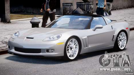 Chevrolet Corvette Grand Sport 2010 v2.0 para GTA 4