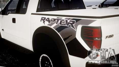 Ford F150 SVT Raptor 2011 para GTA 4