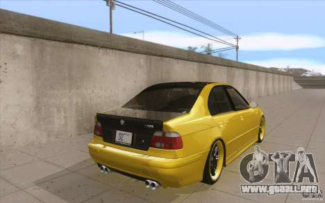 BMW M5 E39 - FnF4 para vista lateral GTA San Andreas