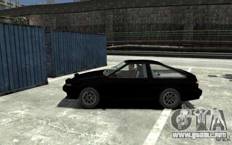 Toyota Sprinter Trueno AE86 para GTA 4 left