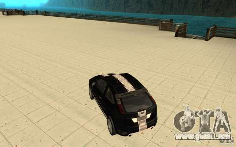 Ford Focus-Grip para vista inferior GTA San Andreas