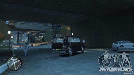 Volkswagen Transporter T3 para GTA 4 vista lateral