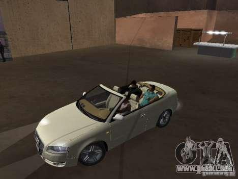 Audi A4 Convertible v2 para la visión correcta GTA San Andreas