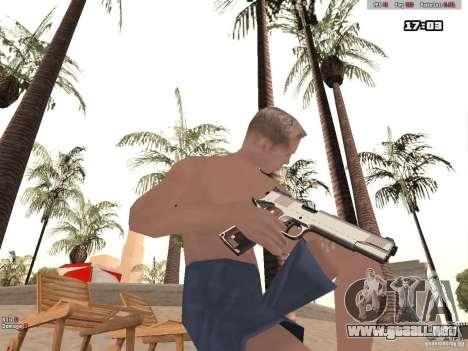 Woody Weapons Pack para GTA San Andreas