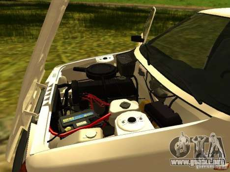 IZH 2717 para visión interna GTA San Andreas