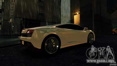 Lamborghini Gallardo Hamann para GTA 4 visión correcta
