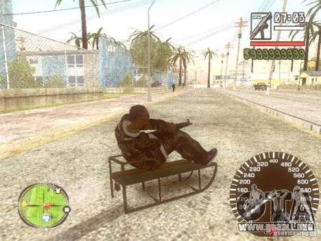 Sani para GTA San Andreas interior
