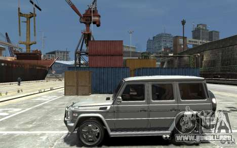Mercedes-Benz G 55 AMG 2009 para GTA 4 left