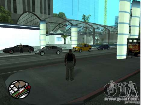 Dorothy Doherty Plaza Nueva para GTA San Andreas segunda pantalla
