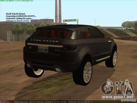 Land Rover Freelander para GTA San Andreas left