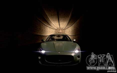 Maserati Gran Turismo 2008 para GTA San Andreas left