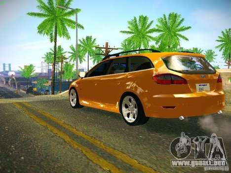 Ford Mondeo Sportbreak para GTA San Andreas vista posterior izquierda