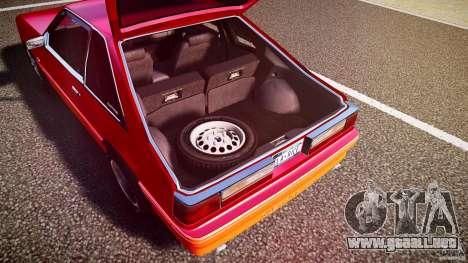 Ford Mustang GT 1993 Rims 2 para GTA 4 vista desde abajo