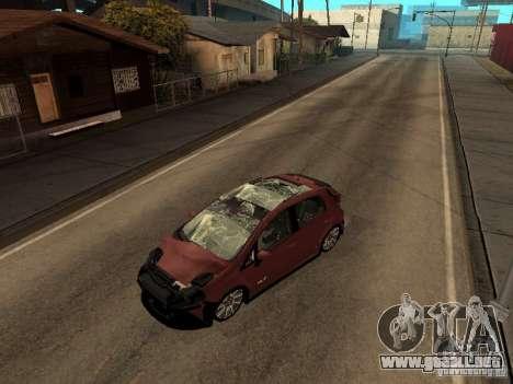 Fiat Punto T-Jet Edit para GTA San Andreas vista posterior izquierda