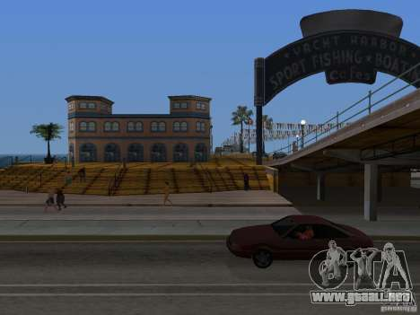 Playa nueva textura v2.0 para GTA San Andreas sucesivamente de pantalla