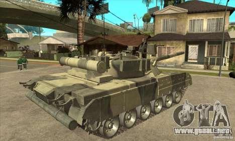 T-80U MBT para la visión correcta GTA San Andreas