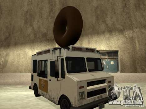 Donut Van para GTA San Andreas